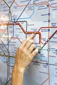Trying to find your way around the data model for an ERP or CRM application without some form of accurate guide is a bit like trying to navigate from one part of London to another using the Underground without a map which has details of the stations, lines and intersections.