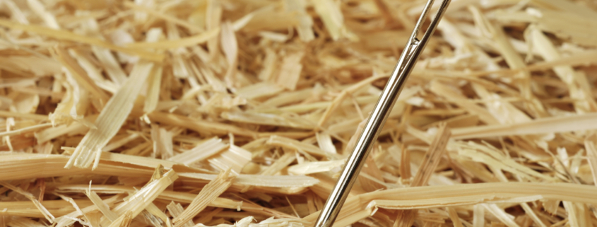 Finding the right metadata can be like finding a needle in a haystack