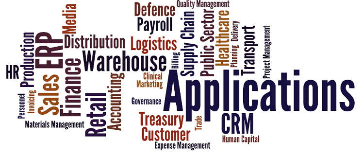 Most organisations have a wide variety of applications